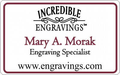 Incredible Engravings with Mary Morak