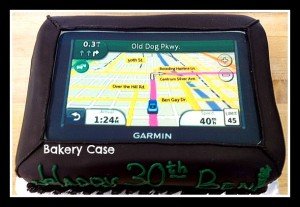 Bakery Case Garmin GPS